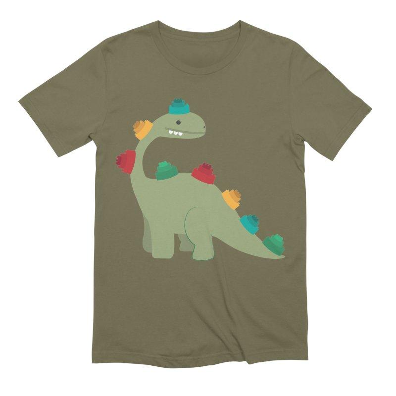Legosaurus Men's Extra Soft T-Shirt by daniac's Artist Shop