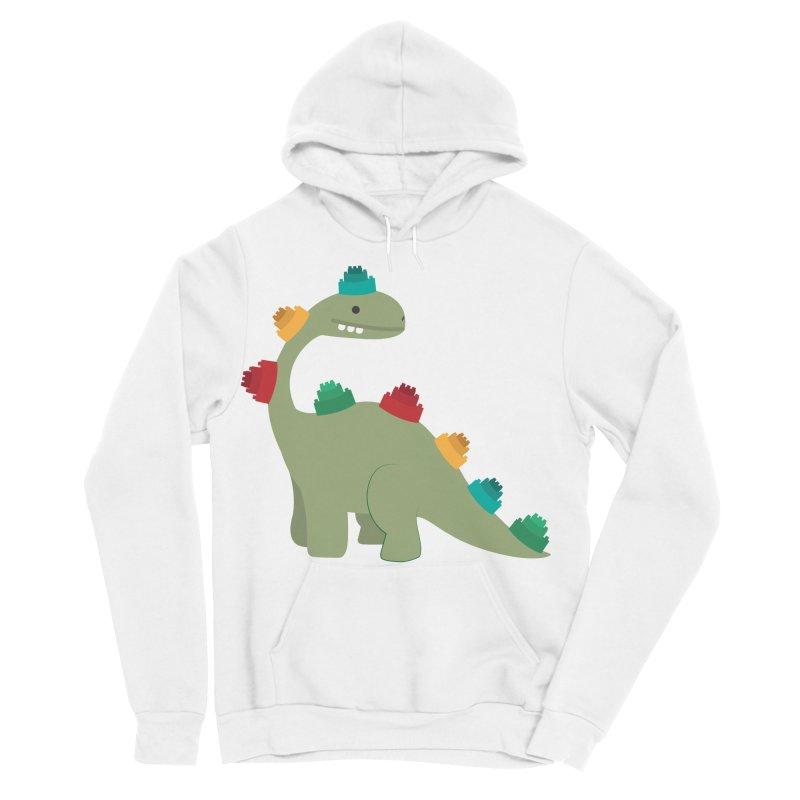 Legosaurus Women's Sponge Fleece Pullover Hoody by daniac's Artist Shop