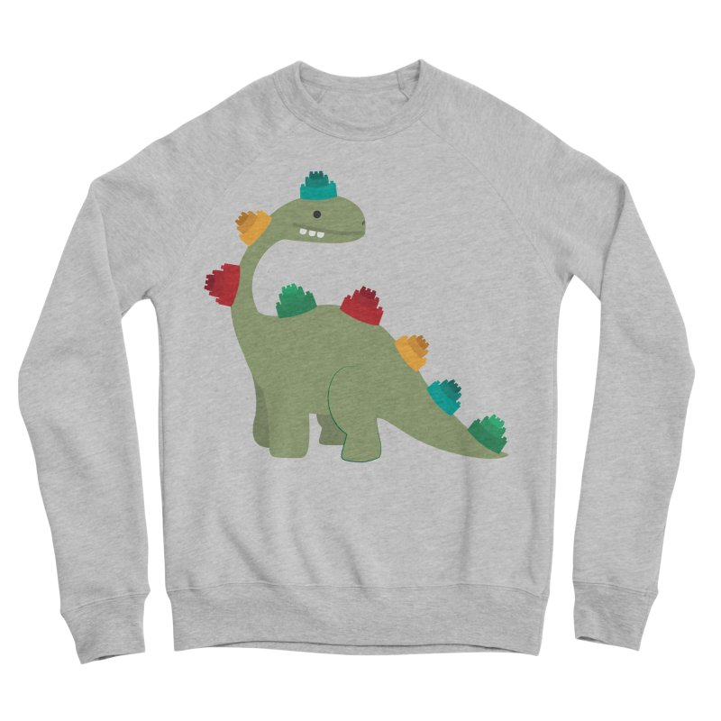 Legosaurus Women's Sponge Fleece Sweatshirt by daniac's Artist Shop