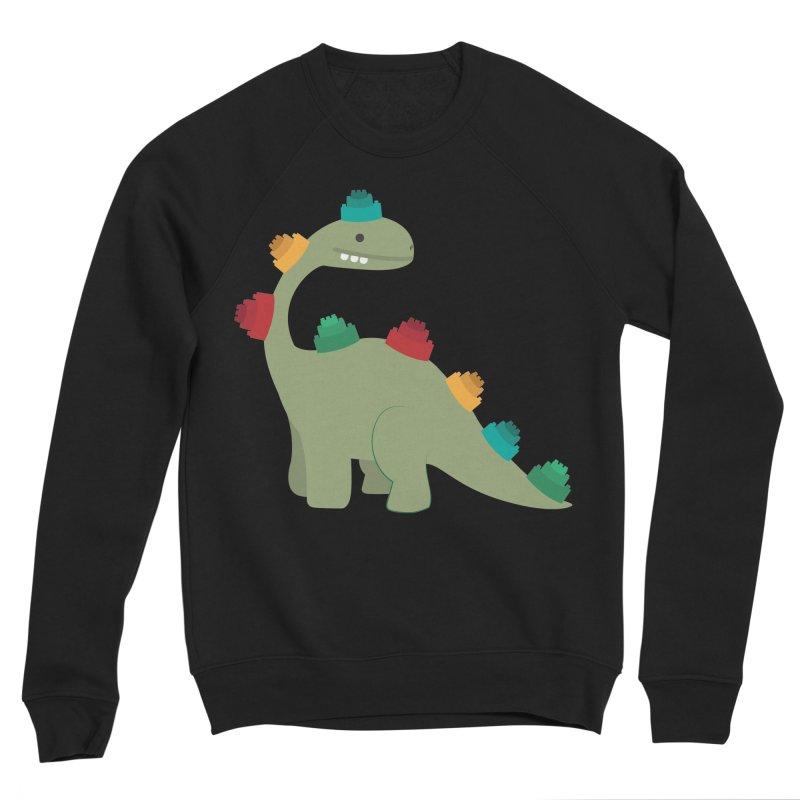 Legosaurus Men's Sponge Fleece Sweatshirt by daniac's Artist Shop