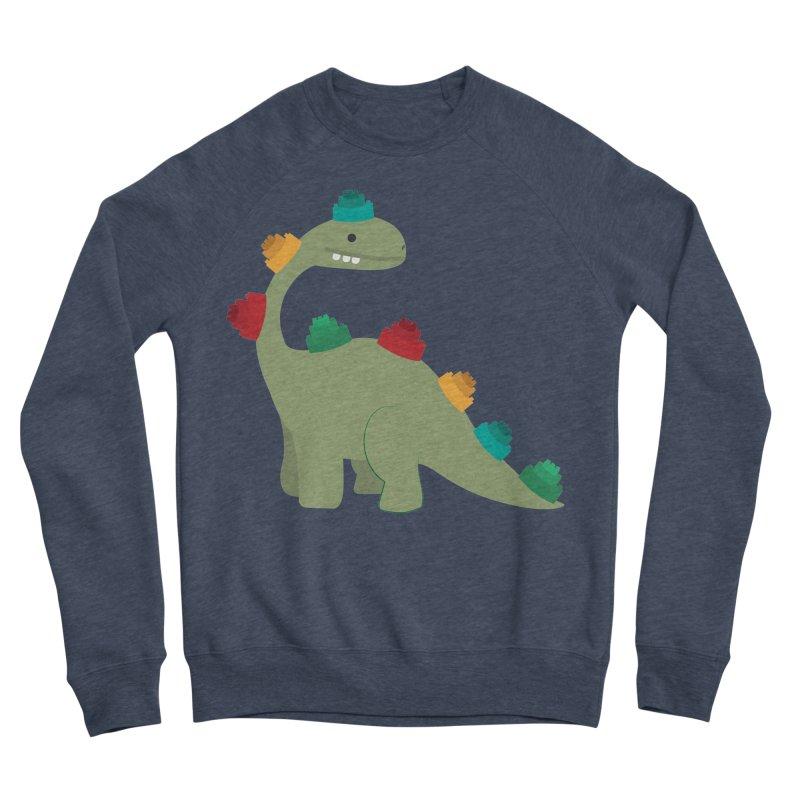 Legosaurus Women's Sponge Fleece Sweatshirt by daniac's Artist Shop