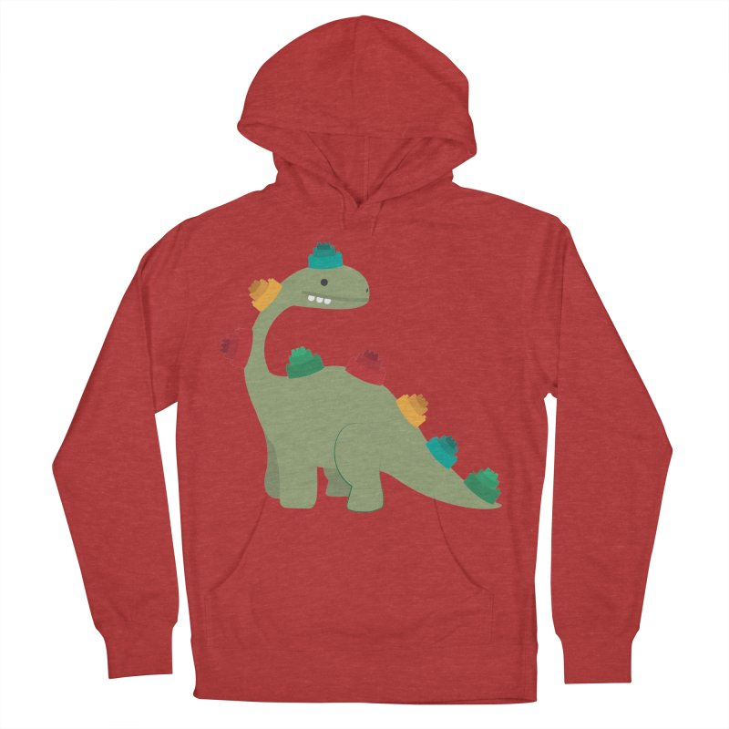 Legosaurus Women's French Terry Pullover Hoody by daniac's Artist Shop