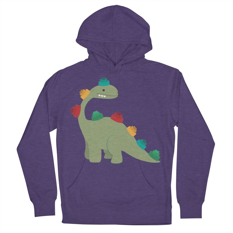 Legosaurus Men's French Terry Pullover Hoody by daniac's Artist Shop