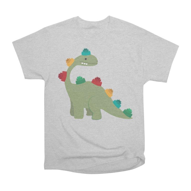 Legosaurus Women's Heavyweight Unisex T-Shirt by daniac's Artist Shop