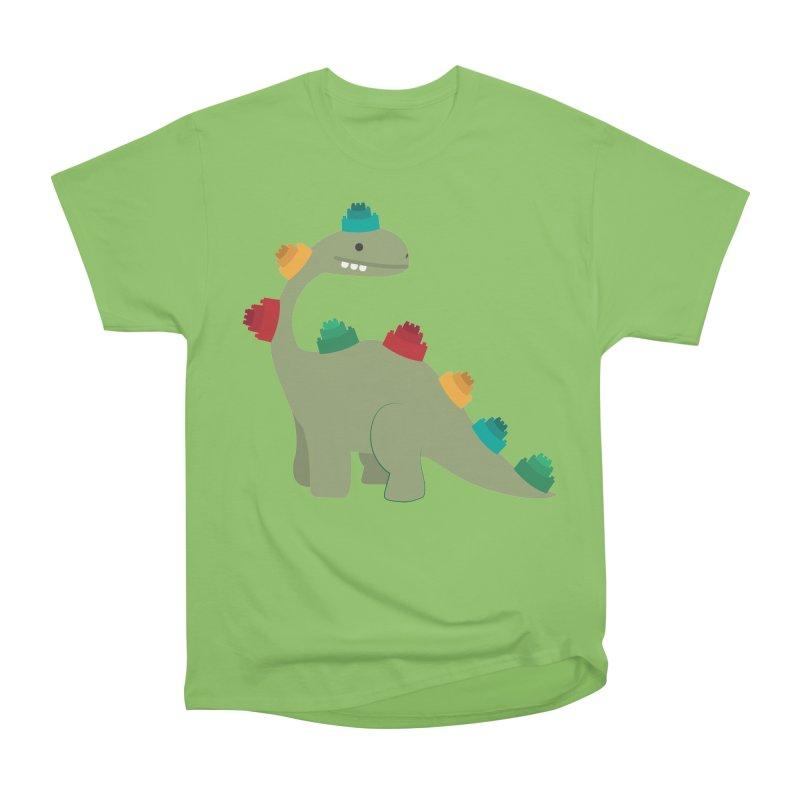 Legosaurus Men's Heavyweight T-Shirt by daniac's Artist Shop