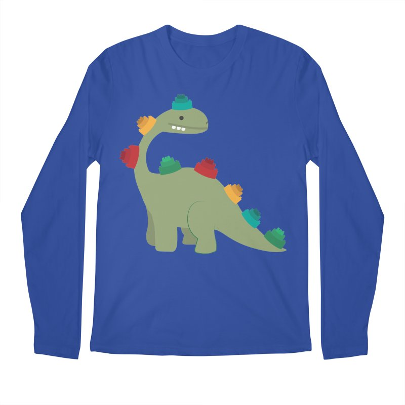 Legosaurus Men's Regular Longsleeve T-Shirt by daniac's Artist Shop