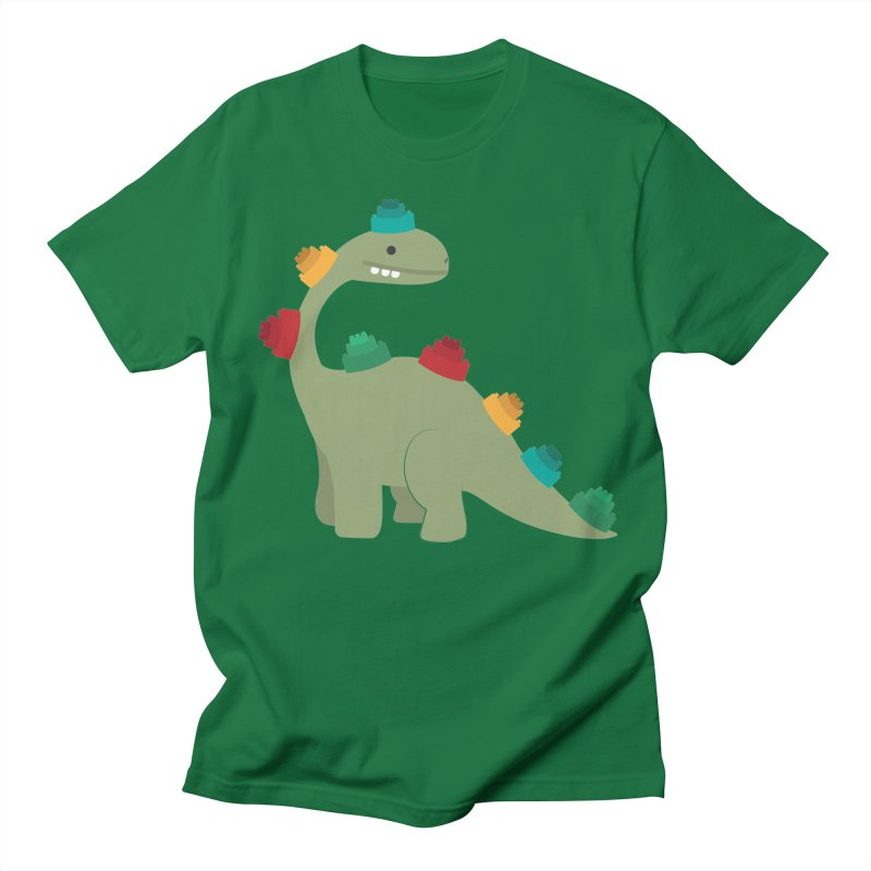 Legosaurus Women's Regular Unisex T-Shirt by daniac's Artist Shop