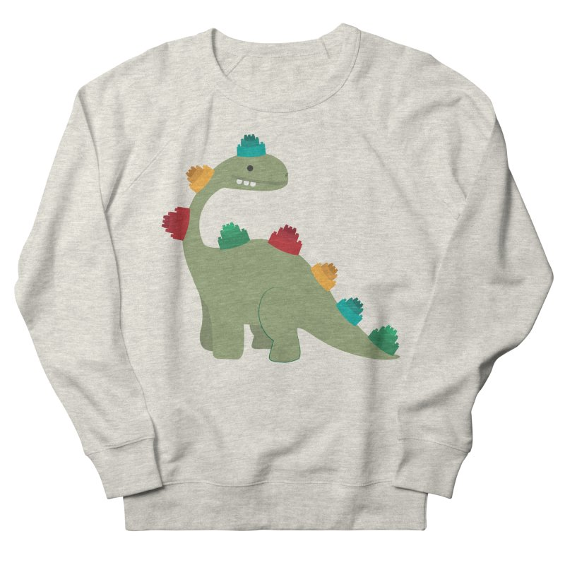 Legosaurus Women's French Terry Sweatshirt by daniac's Artist Shop