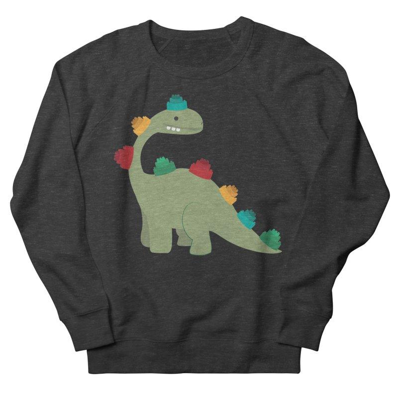 Legosaurus Men's French Terry Sweatshirt by daniac's Artist Shop
