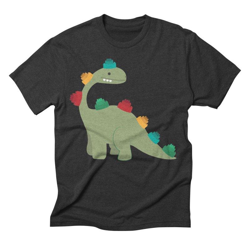 Legosaurus Men's Triblend T-Shirt by daniac's Artist Shop