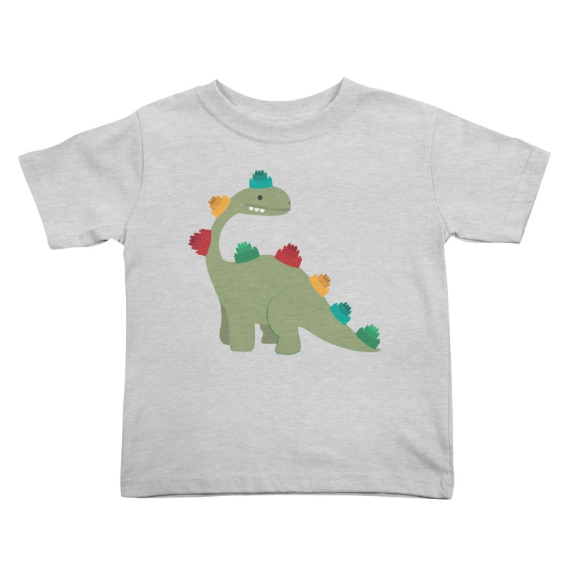 Legosaurus Kids Toddler T-Shirt by daniac's Artist Shop
