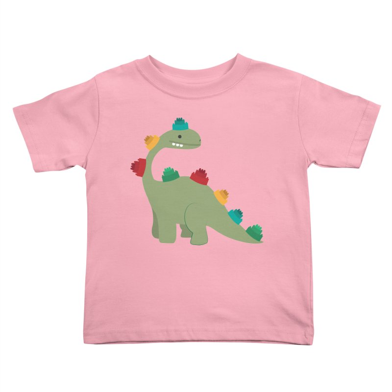 Legosaurus Kids Toddler T-Shirt by daniac's Artist Shop