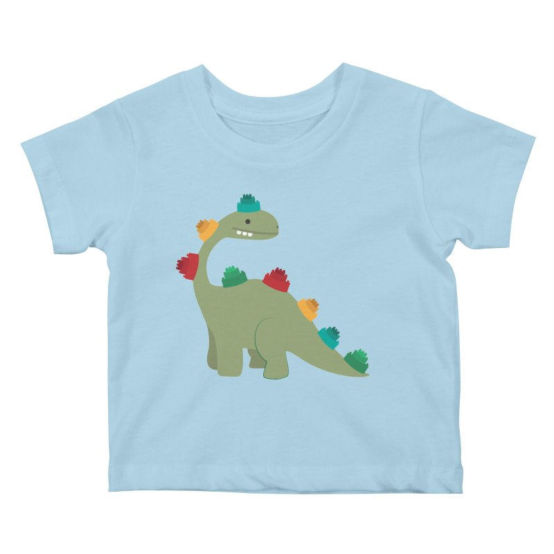 Legosaurus Kids Baby T-Shirt by daniac's Artist Shop
