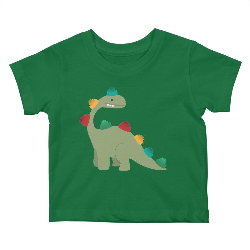 Legosaurus Kids Baby T-Shirt by daniac's Artist Shop