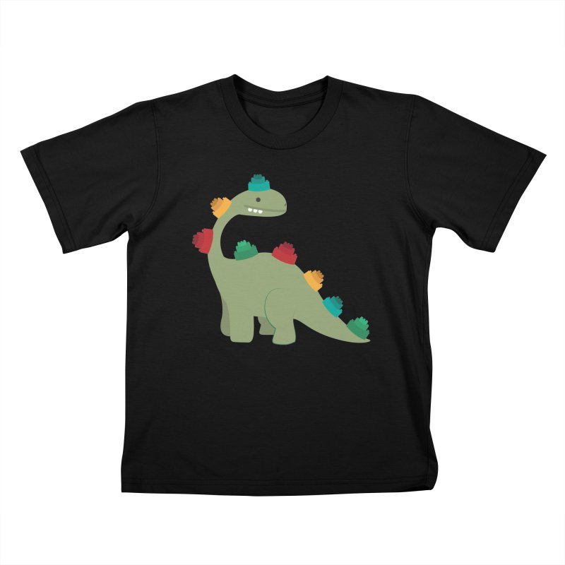 Legosaurus Kids T-Shirt by daniac's Artist Shop