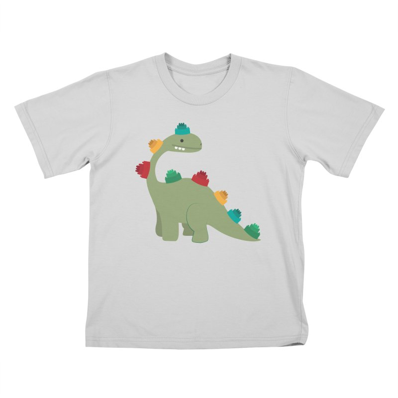 Legosaurus Kids T-Shirt by daniac's Artist Shop