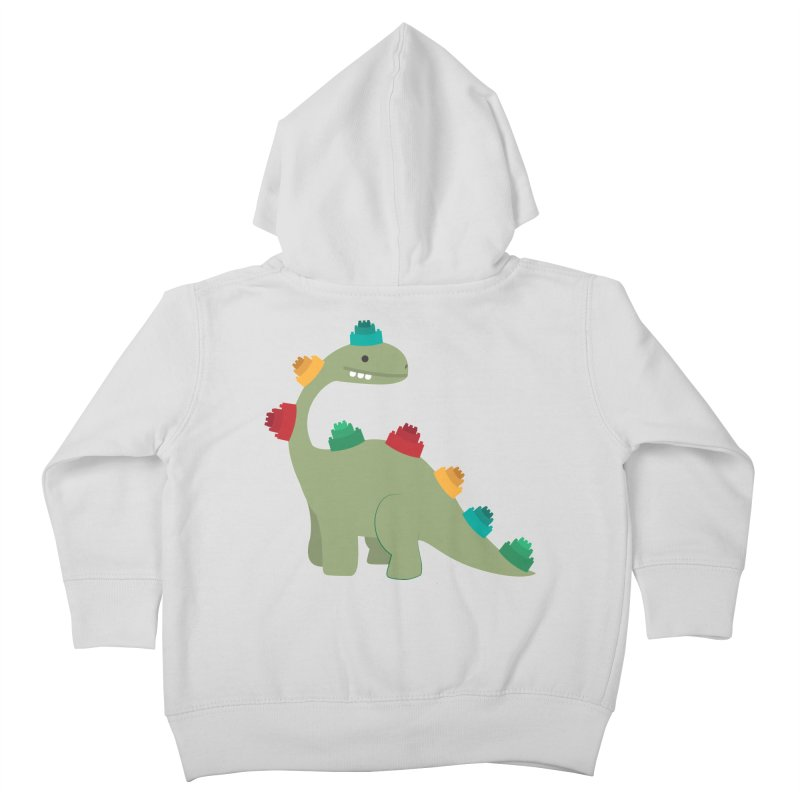 Legosaurus Kids Toddler Zip-Up Hoody by daniac's Artist Shop