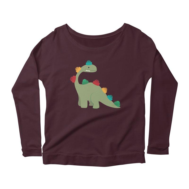 Legosaurus Women's Longsleeve T-Shirt by daniac's Artist Shop