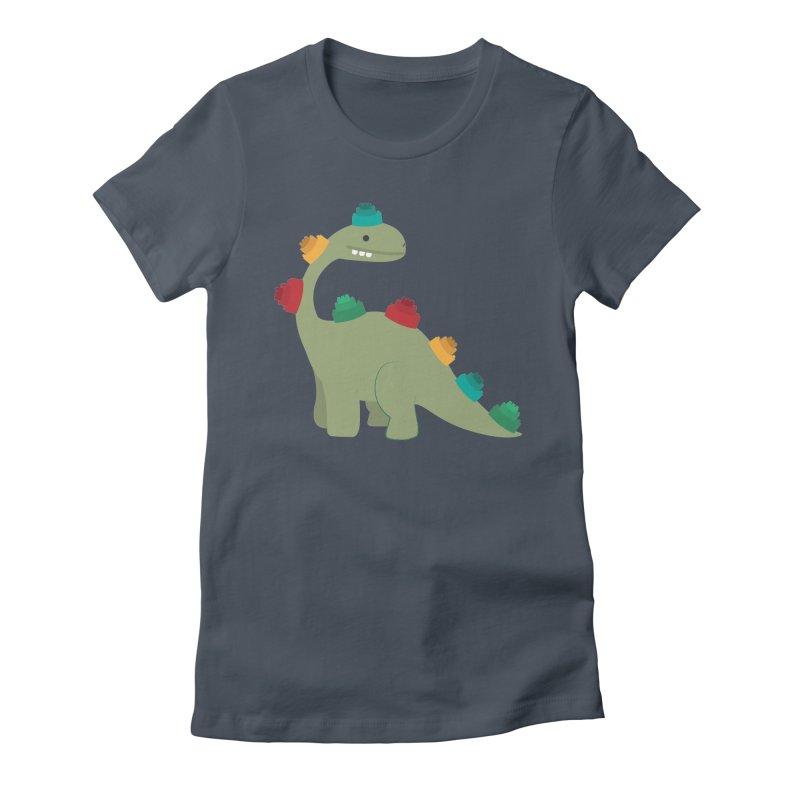 Legosaurus Women's T-Shirt by daniac's Artist Shop