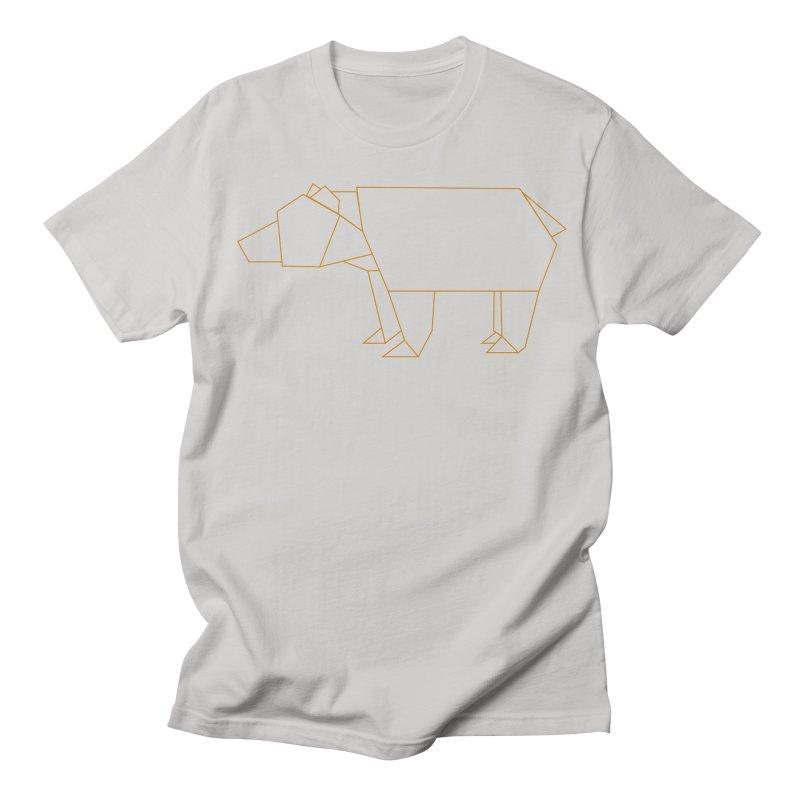 Origami Bear Women's Regular Unisex T-Shirt by daniac's Artist Shop