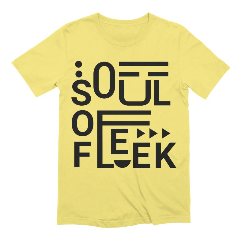 Soul of fleek Men's Extra Soft T-Shirt by daniac's Artist Shop