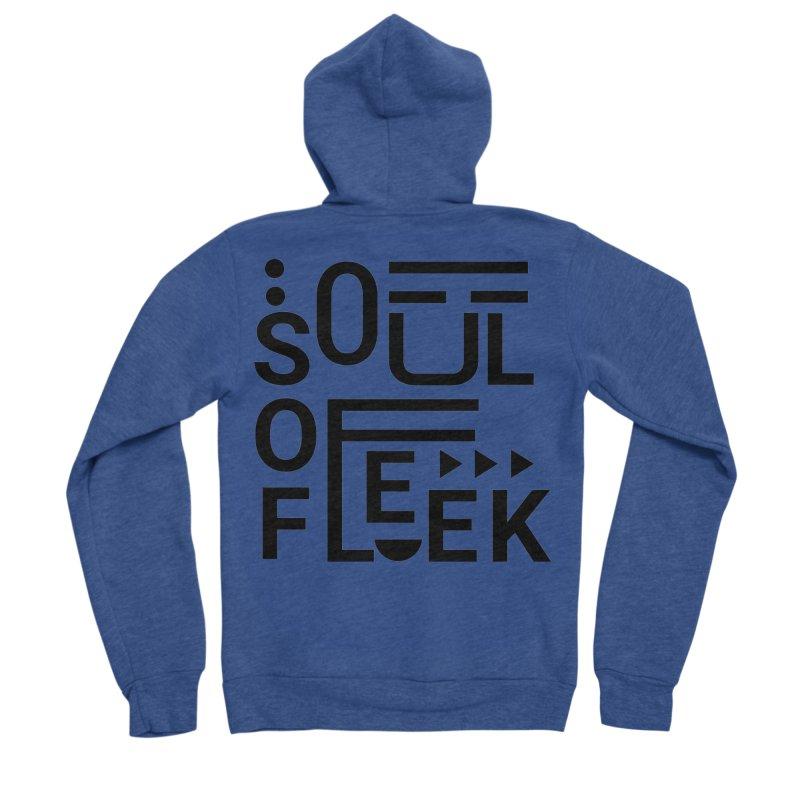 Soul of fleek Women's Sponge Fleece Zip-Up Hoody by daniac's Artist Shop