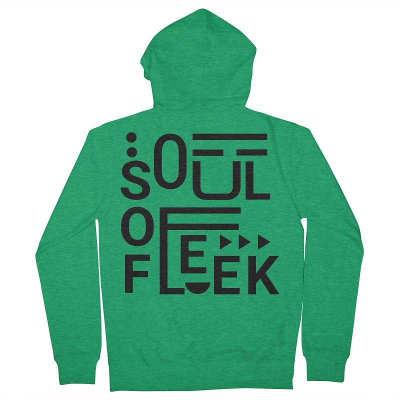 Soul of fleek Men's French Terry Zip-Up Hoody by daniac's Artist Shop