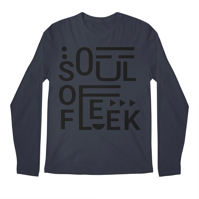 Soul of fleek Men's Regular Longsleeve T-Shirt by daniac's Artist Shop
