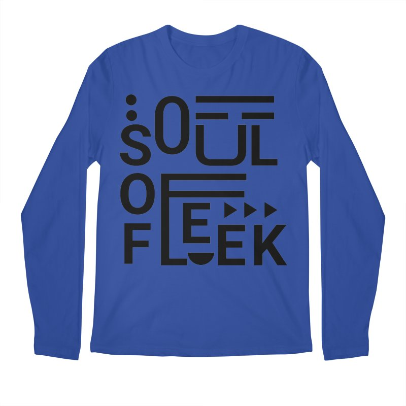 Soul of fleek Men's Regular Longsleeve T-Shirt by daniac's Artist Shop