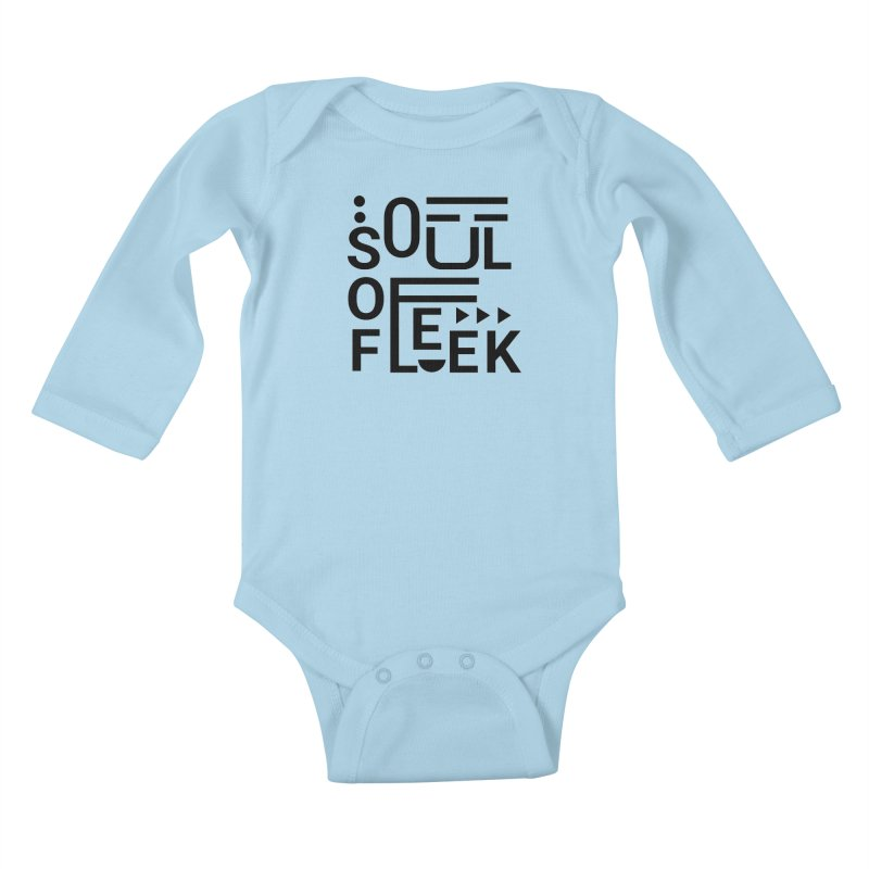 Soul of fleek Kids Baby Longsleeve Bodysuit by daniac's Artist Shop