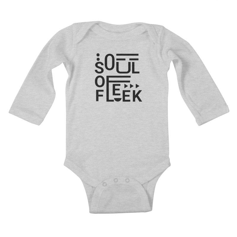 Soul of fleek Kids Baby Longsleeve Bodysuit by daniac's Artist Shop