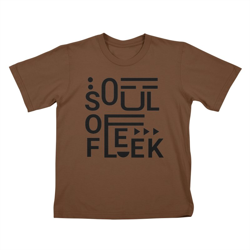 Soul of fleek Kids T-Shirt by daniac's Artist Shop