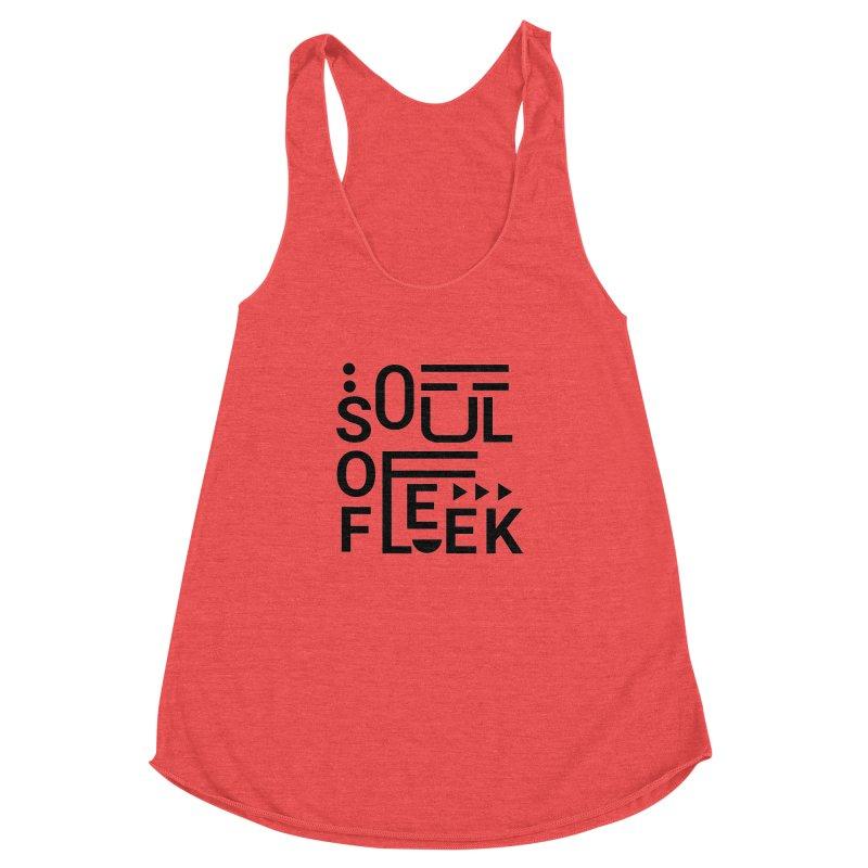 Soul of fleek Women's Racerback Triblend Tank by daniac's Artist Shop