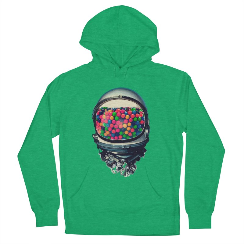 AstroGum Women's French Terry Pullover Hoody by daniac's Artist Shop
