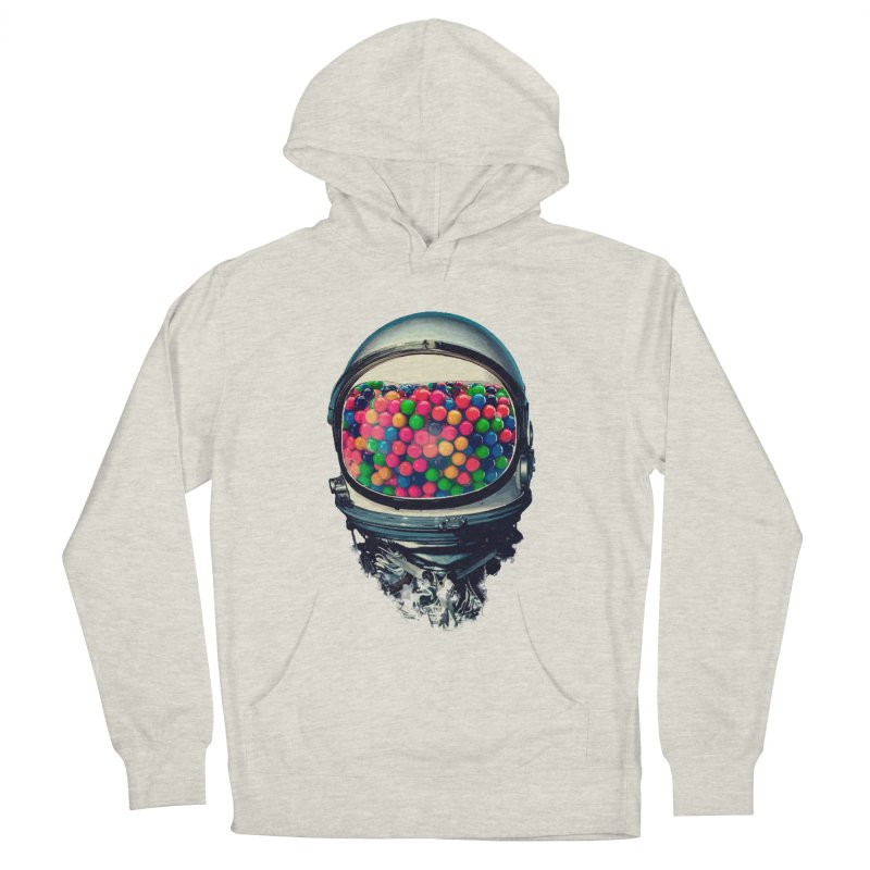 AstroGum Men's French Terry Pullover Hoody by daniac's Artist Shop