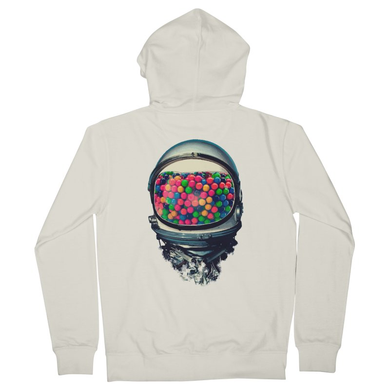 AstroGum Men's French Terry Zip-Up Hoody by daniac's Artist Shop