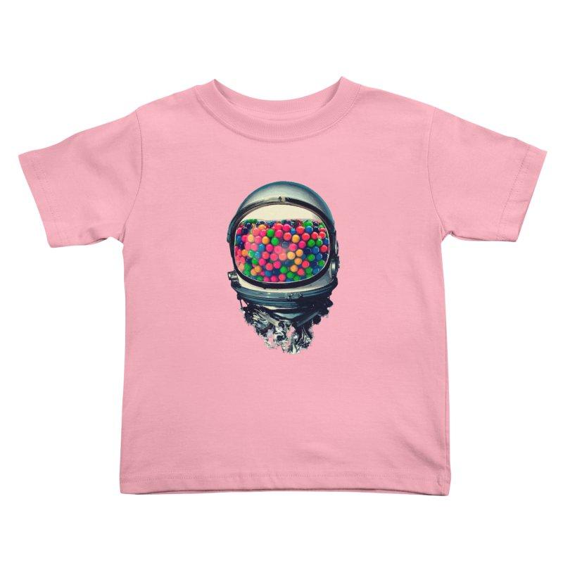 AstroGum Kids Toddler T-Shirt by daniac's Artist Shop