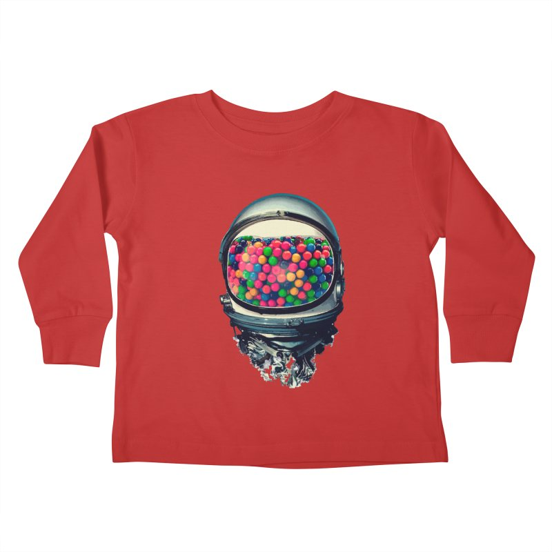 AstroGum Kids Toddler Longsleeve T-Shirt by daniac's Artist Shop