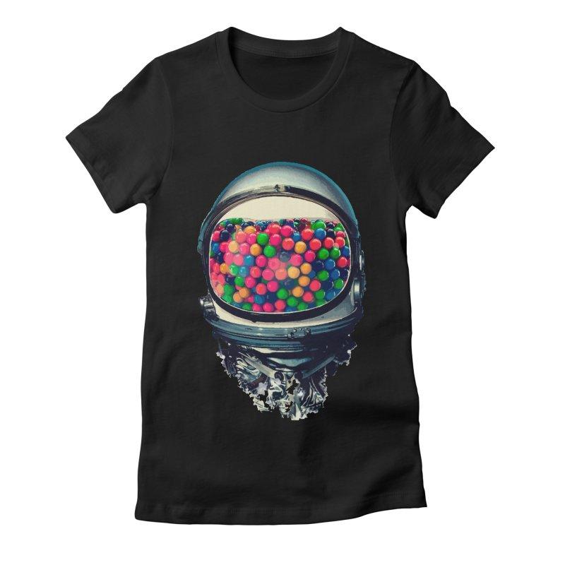 AstroGum Women's Fitted T-Shirt by daniac's Artist Shop