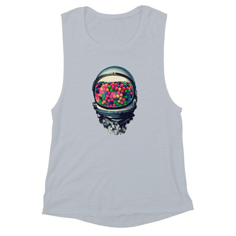 AstroGum Women's Muscle Tank by daniac's Artist Shop