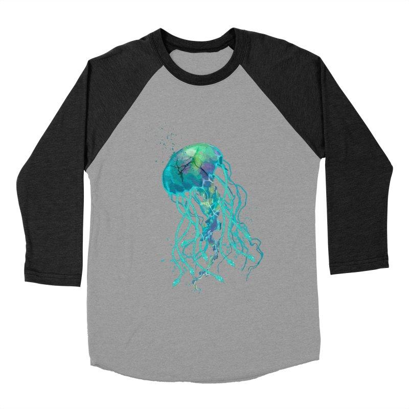 Medusa Men's Baseball Triblend Longsleeve T-Shirt by daniac's Artist Shop