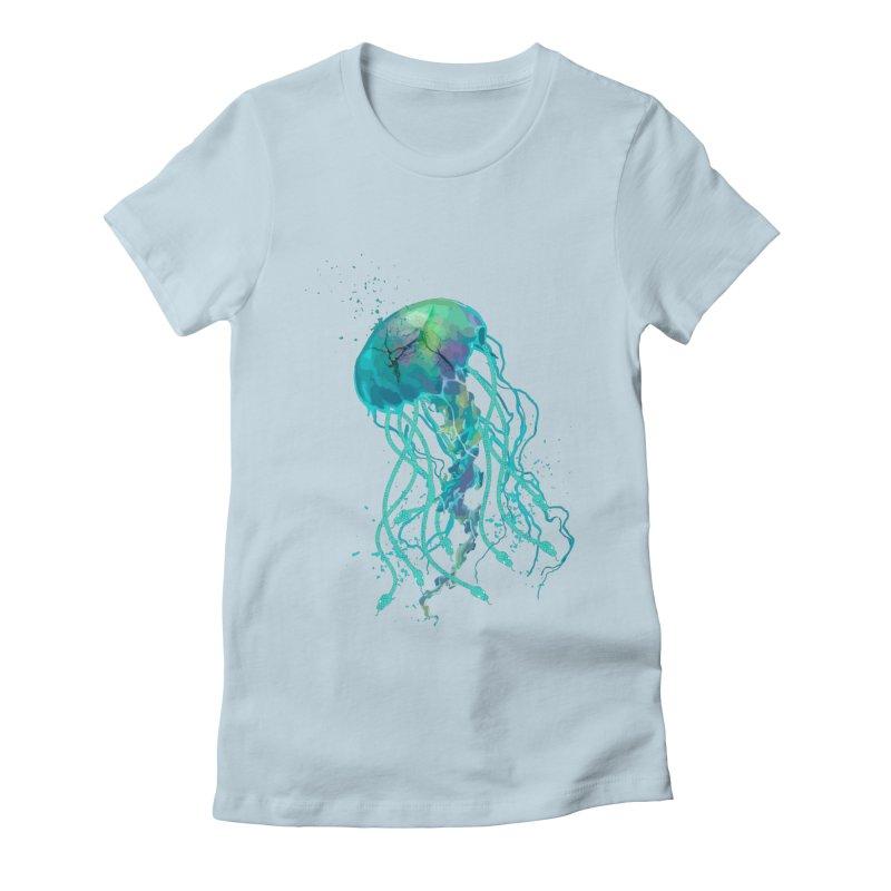 Medusa Women's Fitted T-Shirt by daniac's Artist Shop