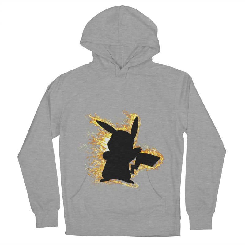 ThunderShock Men's French Terry Pullover Hoody by daniac's Artist Shop
