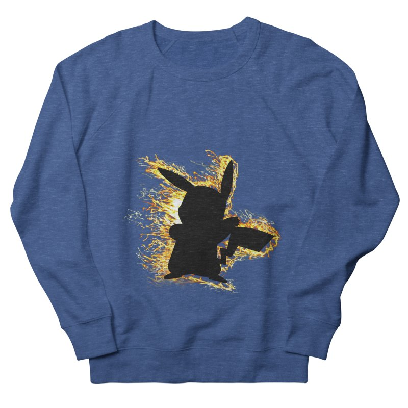 ThunderShock Men's French Terry Sweatshirt by daniac's Artist Shop