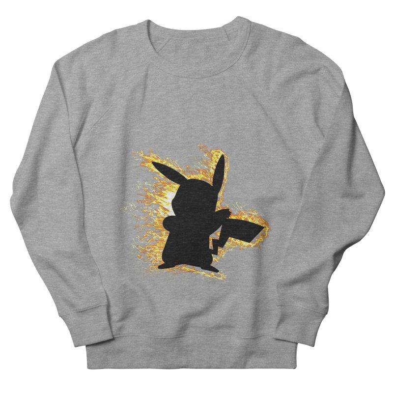 ThunderShock Men's French Terry Sweatshirt by daniac's Artist Shop