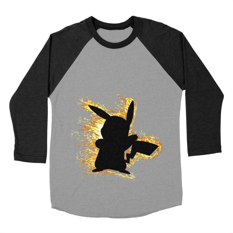 ThunderShock Men's Baseball Triblend Longsleeve T-Shirt by daniac's Artist Shop