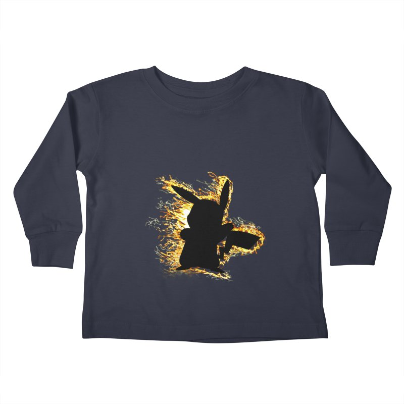 ThunderShock Kids Toddler Longsleeve T-Shirt by daniac's Artist Shop