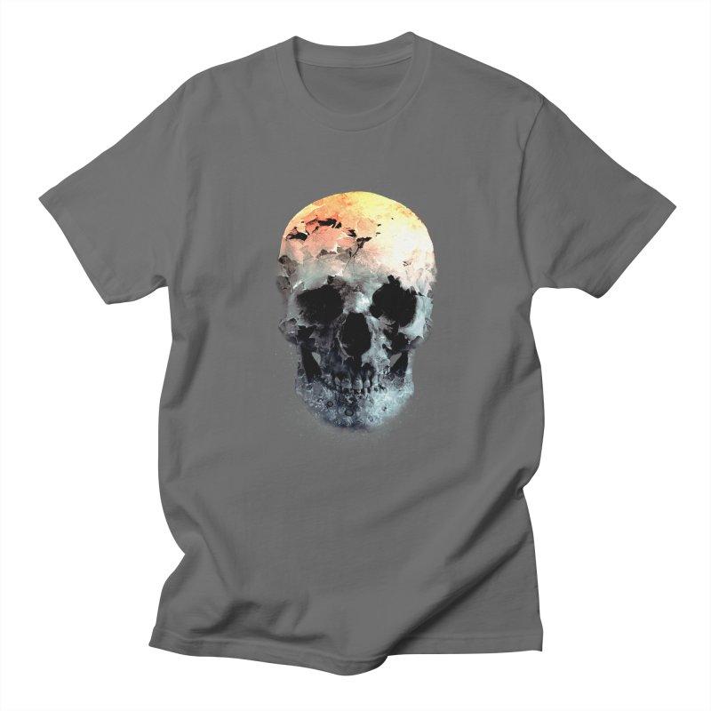 Autumn Skull Men's T-Shirt by daniac's Artist Shop