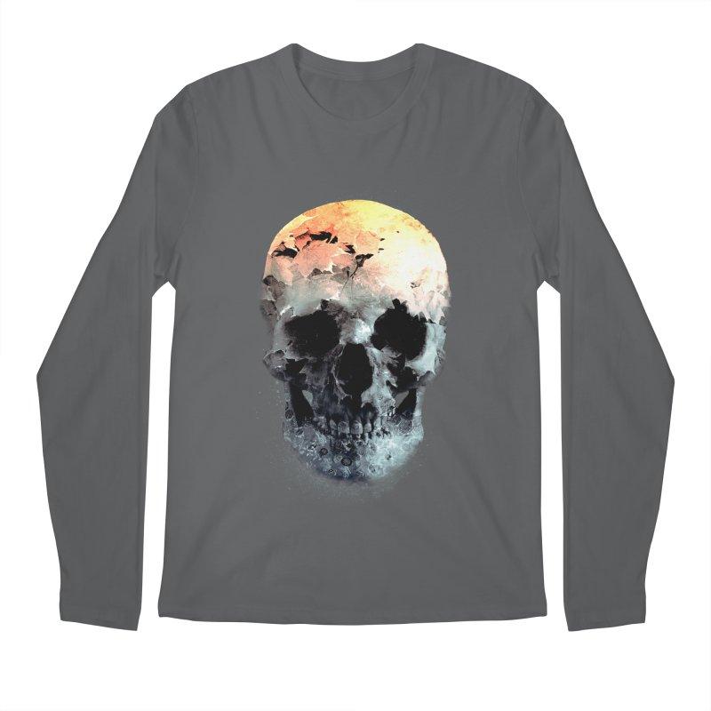 Autumn Skull Men's Regular Longsleeve T-Shirt by daniac's Artist Shop