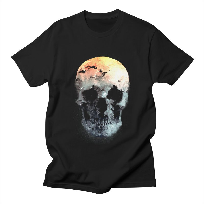 Autumn Skull Men's Regular T-Shirt by daniac's Artist Shop